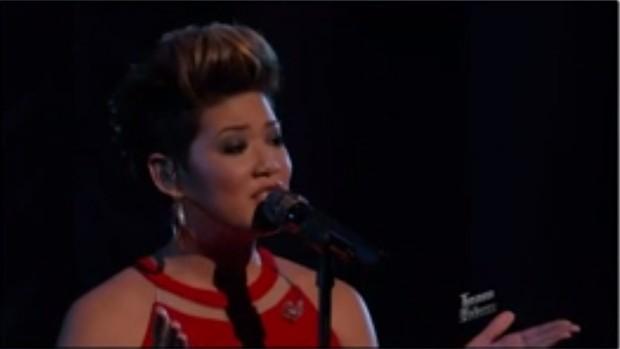 Tessanne Chin, vencedora do The Voice (Foto: Youtube / Reprodução)