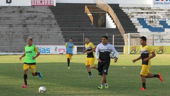 treze, treino, humberto santos (Foto: Junot Lacet Filho / Jornal da Paraíba)