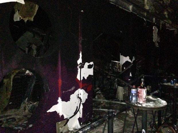 Tragédia em boate em Santa Maria deixou ao menos 232 mortos (Foto: Giovani Grizotti/RBS TV)