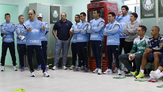 Marcelo Oliveira Palmeiras elenco (Foto: Cesar Greco/Ag Palmeiras/Divulgação)