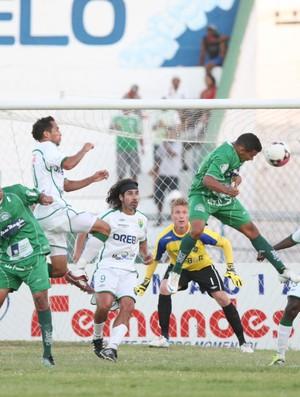 Icasa x Cuiabá, no Estádio do Junco, não passou de 0 a 0 (Foto: Normando Sóracles/Agência Miséria de Comunicação)