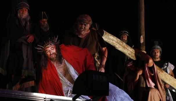 Paixão de Cristo (Foto: Arnaldo Alves/ Divulgação Grupo Lanteri)