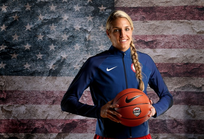 Elena Dalle Donne seleção americana de basquete feminino - EUA Estados Unidos  (Foto: Sean M. Haffey/Getty Images)