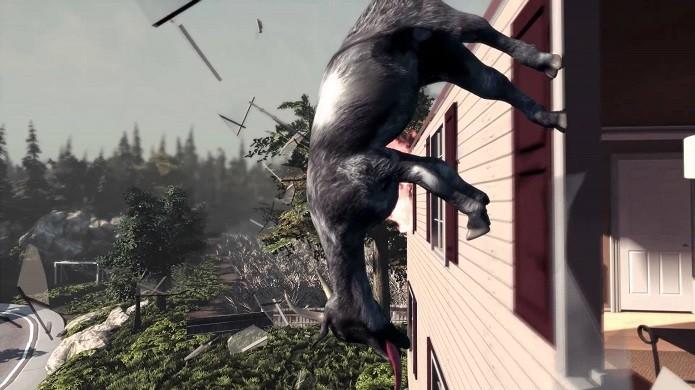 Goat Simulator é um dos exemplos de games do programa ID@Xbox. (Foto: Divulgação)