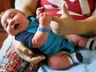 Americana dá à luz bebê pesando 6,5 quilos