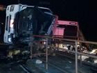 Tombamento de caminhão deixa vítima e feridos em São Marcos, RS