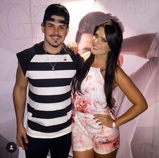 Débora Lyra e Gabriel Gava (Foto: Instagram / Reprodução)