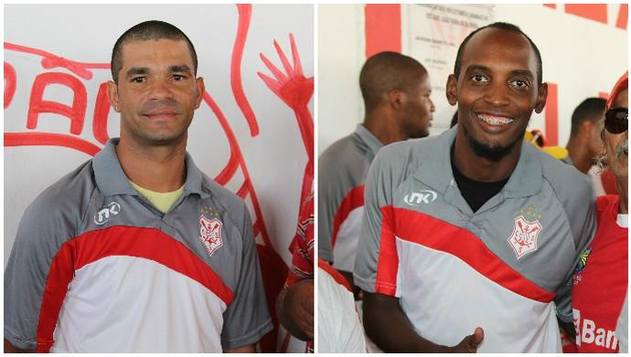 jailso, victor palito, sergipe (Foto: Osmar Rios / GloboEsporte.com)