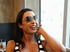 Gracyanne Barbosa após Paparazzo com Belo: 'Em casa concluímos'