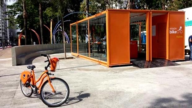 Bike Sampa em São Paulo (Foto: Divulgação Tembici/Instagram)