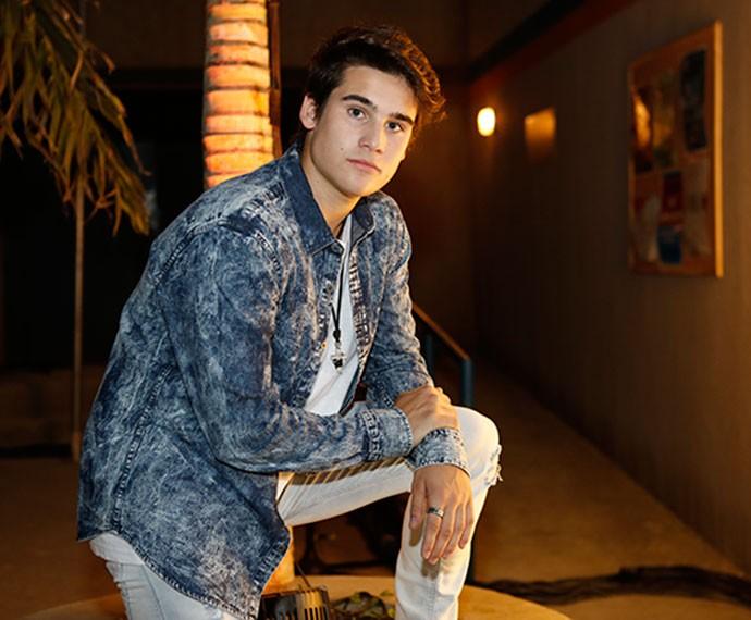 Nicolas Prattes será o protagonista Rodrigo (Foto: Ellen Soares / Gshow)