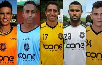 Rio Branco-ES renova com Santiago e mais quatro jogadores para a Copa ES