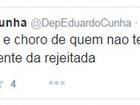 Cunha chama de 'choro' tentativa de partidos de suspender reforma política