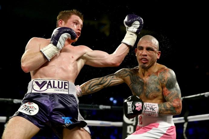 Saul Canelo Álvarez x Miguel Cotto, boxe (Foto: Getty Images)