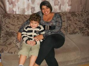 Heloisa entrou em uma rotina de dieta e exercícios (Foto: Heloisa Moraes Alves / Arquivo Pessoal)