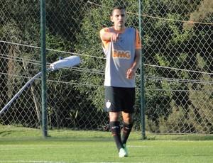 Rafael Marques treino Atlético-MG (Foto: Léo Simonini)