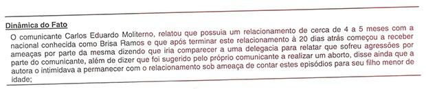 Boletim Cadu Moliterno (Foto: Reprodução)
