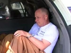 Ex vice provedor da Santa Casa de Sorocaba deixou o presídio (Foto: Reprodução/TV TEM)