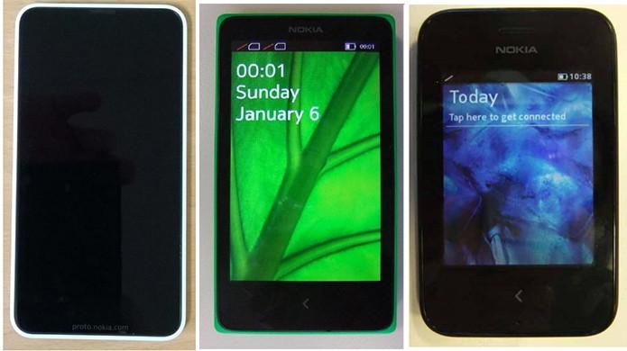 Lumia 630, Nokia X e Asha 230 já estão homologados e autorizados para venda no Brasil (Foto: Divulgação/Anatel)