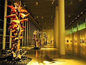 Estação das Artes tem um amplo espaço para grandes exposições (Foto: Divulgação/Secom-JP)