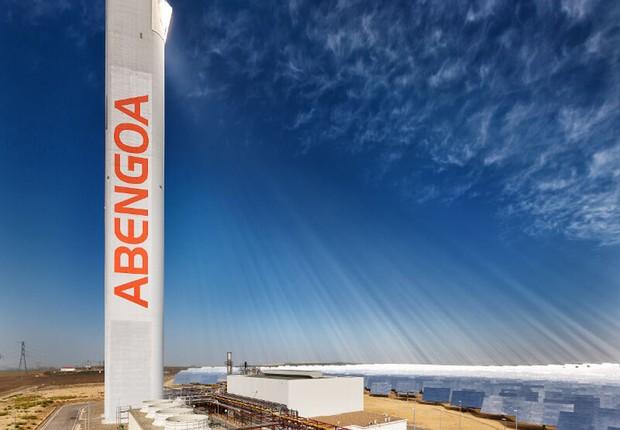 Fábrica da Abengoa no Brasil (Foto: Divulgação)