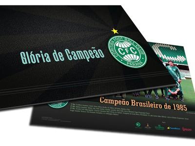 """Livro """"Glória de Campeão"""" Coritiba (Foto: Divulgação)"""