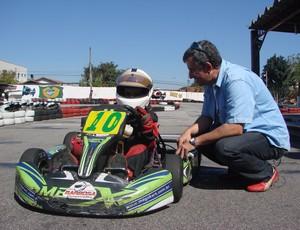Manfredo Marello, piloto mirim de kart (Foto: Danilo Sardinha/Globoesporte.com)