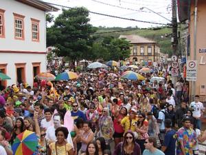 São Luiz do Paraitinga volta a receber foliões no Carnaval (Foto: VNews)