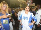 Maria Rita volta a desfilar no Rio depois de mal-estar em São Paulo
