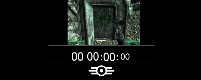 TheSurvivor2299, o site falso de Fallout 4 (Foto: Reprodução/Felipe Vinha)