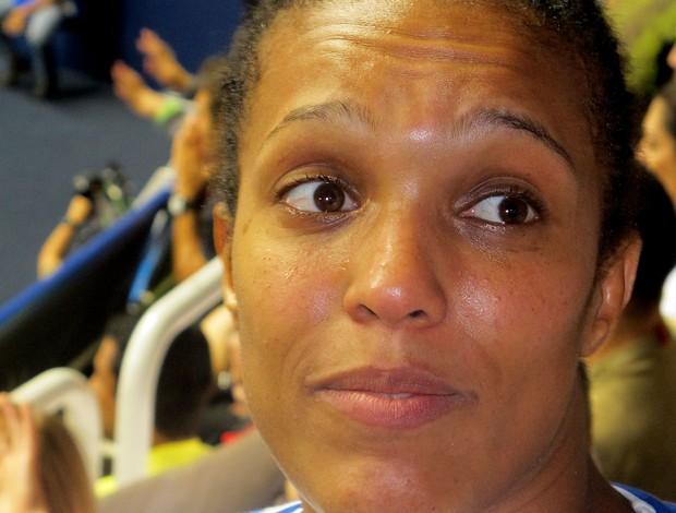 Lucie Decosse, francesa, tricampeã mundial, e sem medalha no Rio, aposentou mundial de judô (Foto: Thierry Goozer)