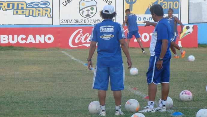 Técnico Reginaldo Sousa  (Foto: Vital Florêncio / GloboEsporte.com)