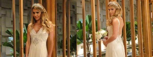 Deborah Secco era Natalie, que casou com Cortez (Herson Capri) em Insensato Coração (Foto: Divulgação, RBS TV)
