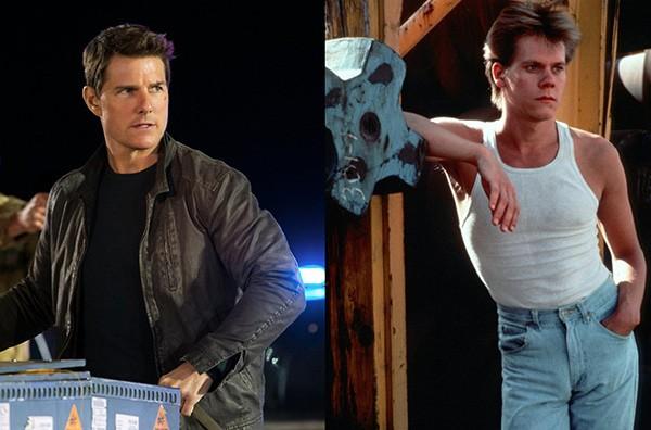 Tom Cruise e Kevion Bacon (Foto: Divulgação)