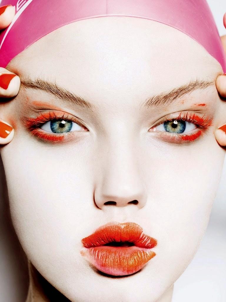 Lindsey Wixson para Vogue Japão - Novembro 2014 (Foto: Mario Testino)