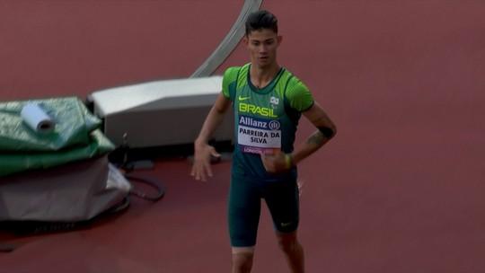 """Para-atleta contraria médico, é bronze nos 100m, mas diz: """"Poderia ter ganhado ouro"""""""