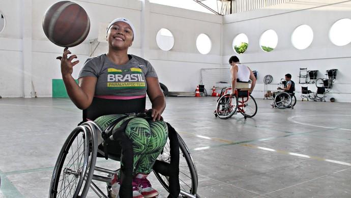 cc504079a3 Elaine Cristina Farias  basquete em cadeira de rodas  Ceará (Foto   Divulgação