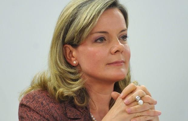 A ministra-chefe da Casa Civil, Gleisi Hoffmann (Foto: Antonio Cruz/ABr)