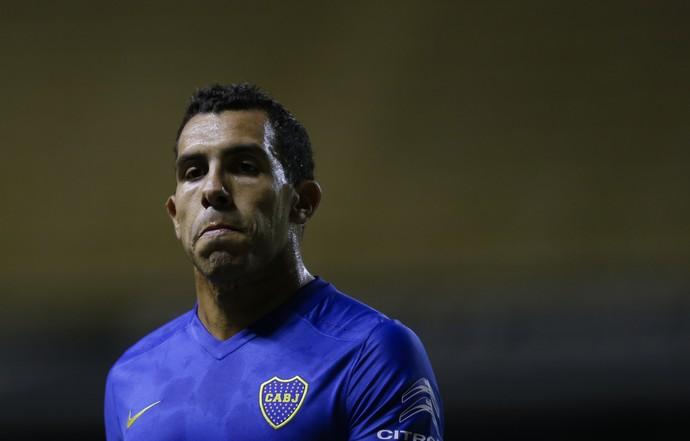 Tévez Boca Juniors x Racing (Foto: AP)