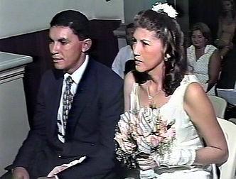 Genival e Elisabete se casaram após seis meses do primeiro encontro (Foto: Arquivo Pessoal)