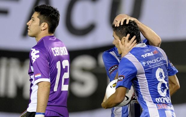 Marcos Mondaini gol Emelec (Foto: AFP)