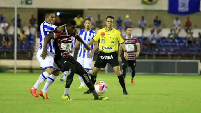 CSA x Santa Rita, no Rei Pelé (Foto: Ailton Cruz/ Gazeta de Alagoas)