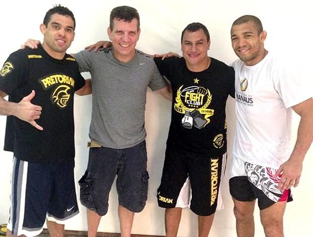 Últimas do MMA: Shogun vs Henderson 2 no UFC Natal; Chris Leben aposentado; Popó treinando Renan Barão; Rampage no GP LHW do Bellator; e mais... Box_popo_treinos2_anahissa_69