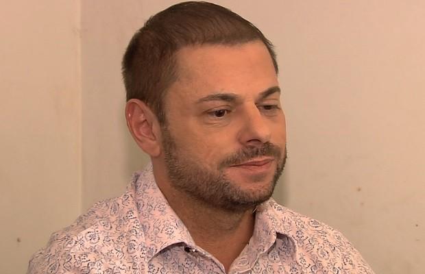 'Morreu fazendo o que gostava', diz irmão do cinegrafista Ari Júnior em Goiás (Foto: Reprodução/TV Anhanguera)