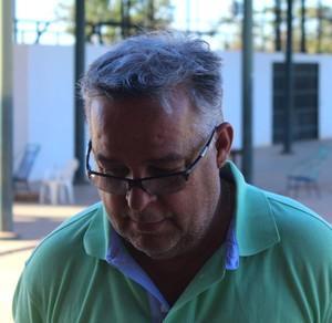 Josué Teixeira, treinador do River-PI (Foto: Wenner Titto)