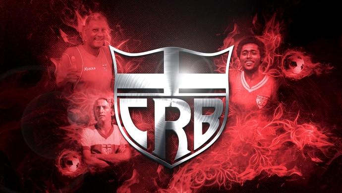 Escudo do CRB, criado pelo designer Tom Carvalho (Foto: Tom Carvalho/Arquivo Pessoal)