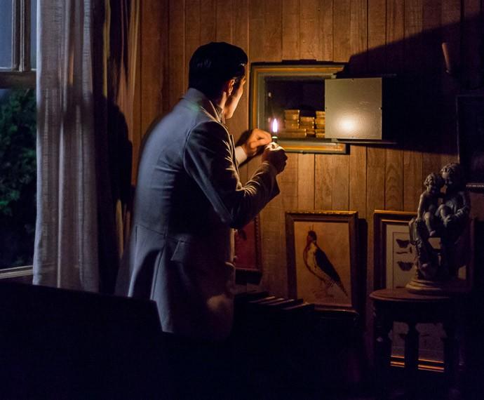 Roberto encara as barras de ouro, supreso (Foto: Artur Meninea/Gshow)