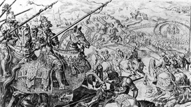 Batalha gerou grandes perdas para Solimão  (Foto: BBC)