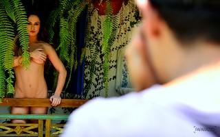 Núbia Oliiver posa para o Paparazzo (Foto: Roberto Teixeira / Paparazzo)