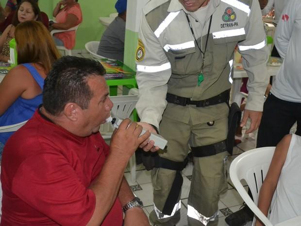 Operação Verão foca na Lei Seca, segundo coronel Hilton Benigno (Foto: Divulgação / Agência Pará)
